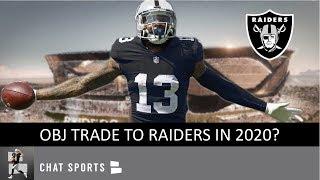 OBJ To Raiders? Raiders Rumors: Odell Beckham Jr. Trade, Derek Carr Booed, Josh Jacobs Injury