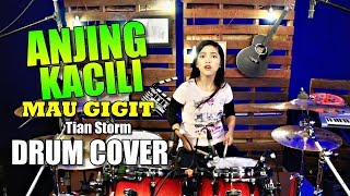 Download lagu ANJING KACILI | TIAN STORM | Drum Cover by Nur Amira Syahira
