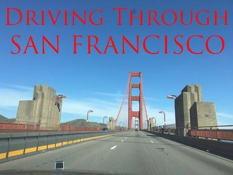 HD VIDEO DRIVING THROUGH SAN FRANCISCO