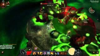 Monk Vs Belialin Diablo 3 Reaper of Souls Hardcore T6