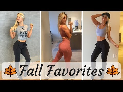Fall Favorites 2017! Lululemon, Paragon Fitwear, APL & More!