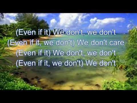 Sigala Feat The Vamps -  We Don't Care Lyrics