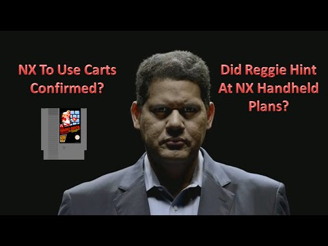 NX To Use Cartridges Confirmed? Reggie Hinting Toward Handheld?