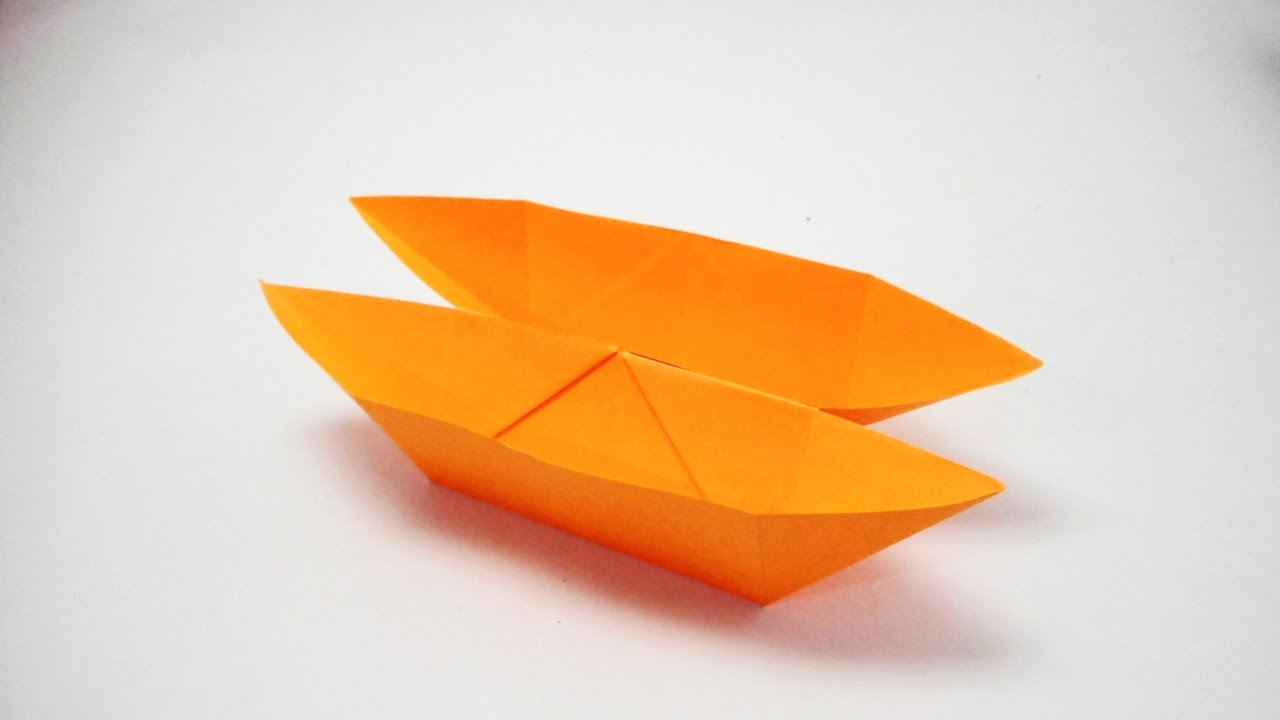 Download How to make a Double Boat with paper