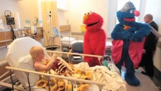 Elmo and Super Grover visit WRH