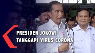Wabah Virus Corona, Jokowi: Yang Paling Penting Hati-hati!