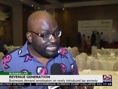 Revenue Generation - Business Live on JoyNews (20-2-18)