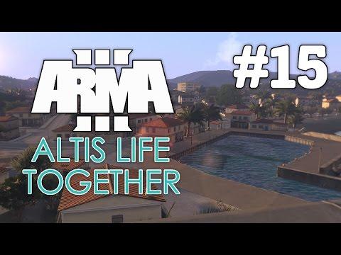MEGA TRANSPORT Event - Arma 3 - Altis Life Together (Polizei) #015 [Deutsch/German]