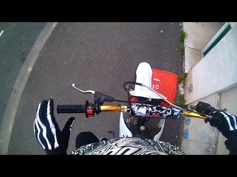Ride in city ! Dirt 125 !