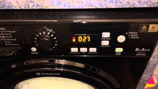 hotpoint washing machine on cottton standard cycle 20