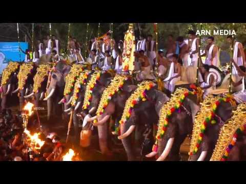Arattupuzha Pooram 2016 Paandi Melam 6
