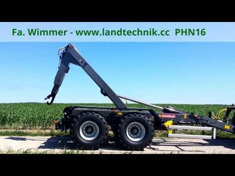 Metaltech Hakenliftanhänger PHN