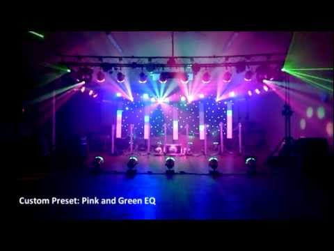 EatAudio Sound and Lighting: Full Lighting Show