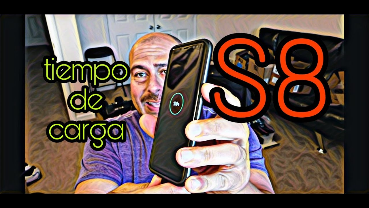 60f8cdb92eb Tiempo de carga - Samsung Galaxy S8 - 0 a 100% by korguenkomodo