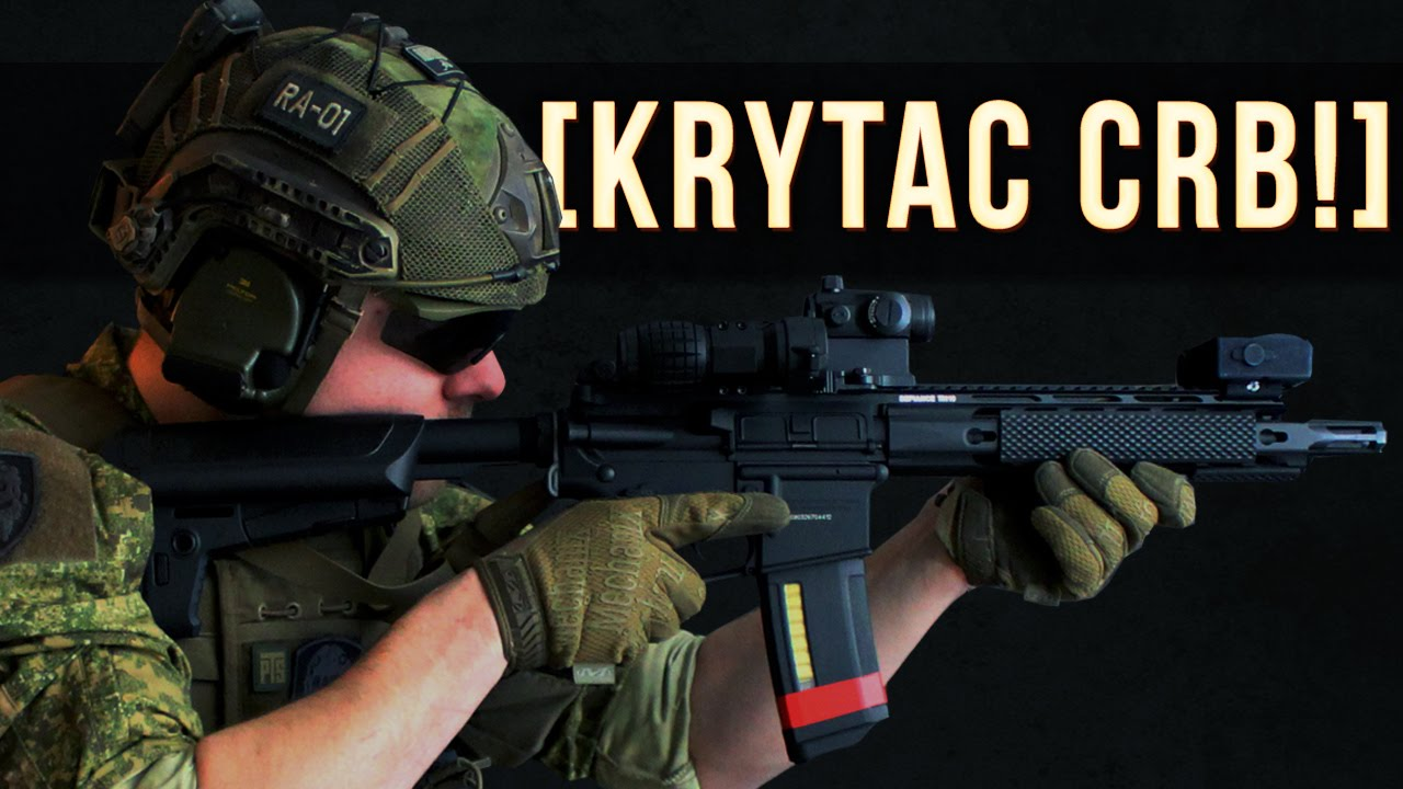 KRYTAC CRB AWESOME AEG SETUP REVIEW YouTube