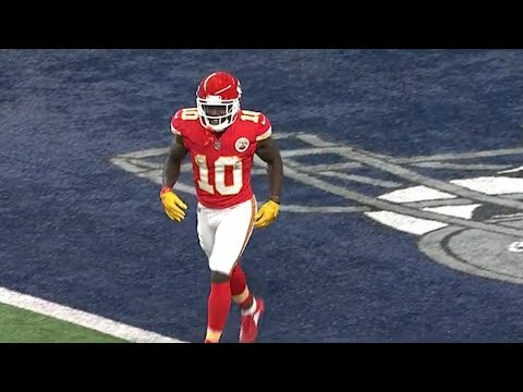 Tyreek Hill INSANE Miracle Touchdown Before The Half! | Chiefs vs. Cowboys | NFL