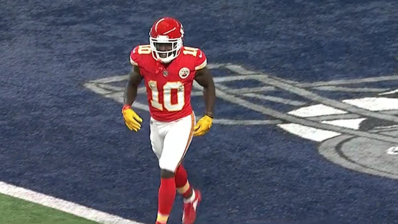 Tyreek Hill's recent reversal includes place in 'Top 100 Players'