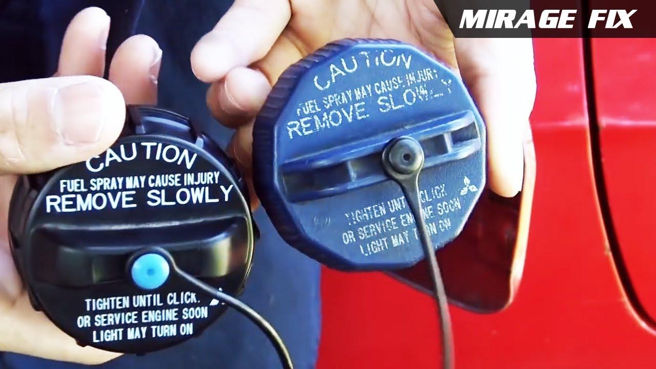 FUEL CAP DOOR COVER USE FOR MITSUBISHI MIRAGE HATCHBACK 2012-2015