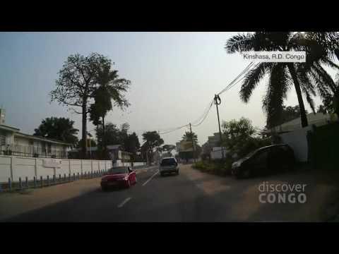 Découvrez Kinshasa : Supermarché City-market vers Grand Hôtel de Kinshasa