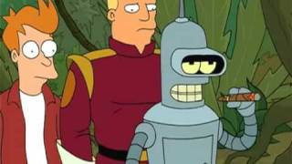 FUTURAMA - Bender - I'm Back, Baby