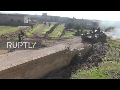 Syria: SAA captures several towns in Idlib countryside