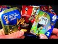 Panini FIFA WORLD CUP 2018 STICKERS vs TRADING CARDS XXL UNBOXING BATTLE