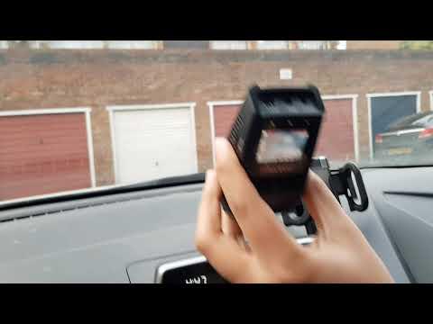 Fixing Pruveeo F5 Dash Cam In A Car