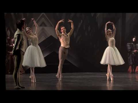 Swan Lake Act 1 Pas de trois Royal Danish Ballet