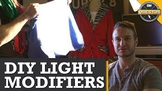 Quick Tips: Diy Light Modifiers!