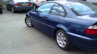 Www.dealerpx.com BMW 318i, petrol, blue, manual, coupe