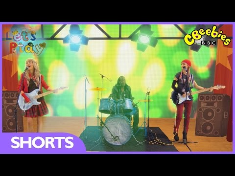 Let's Play: Rock Band - CBeebies
