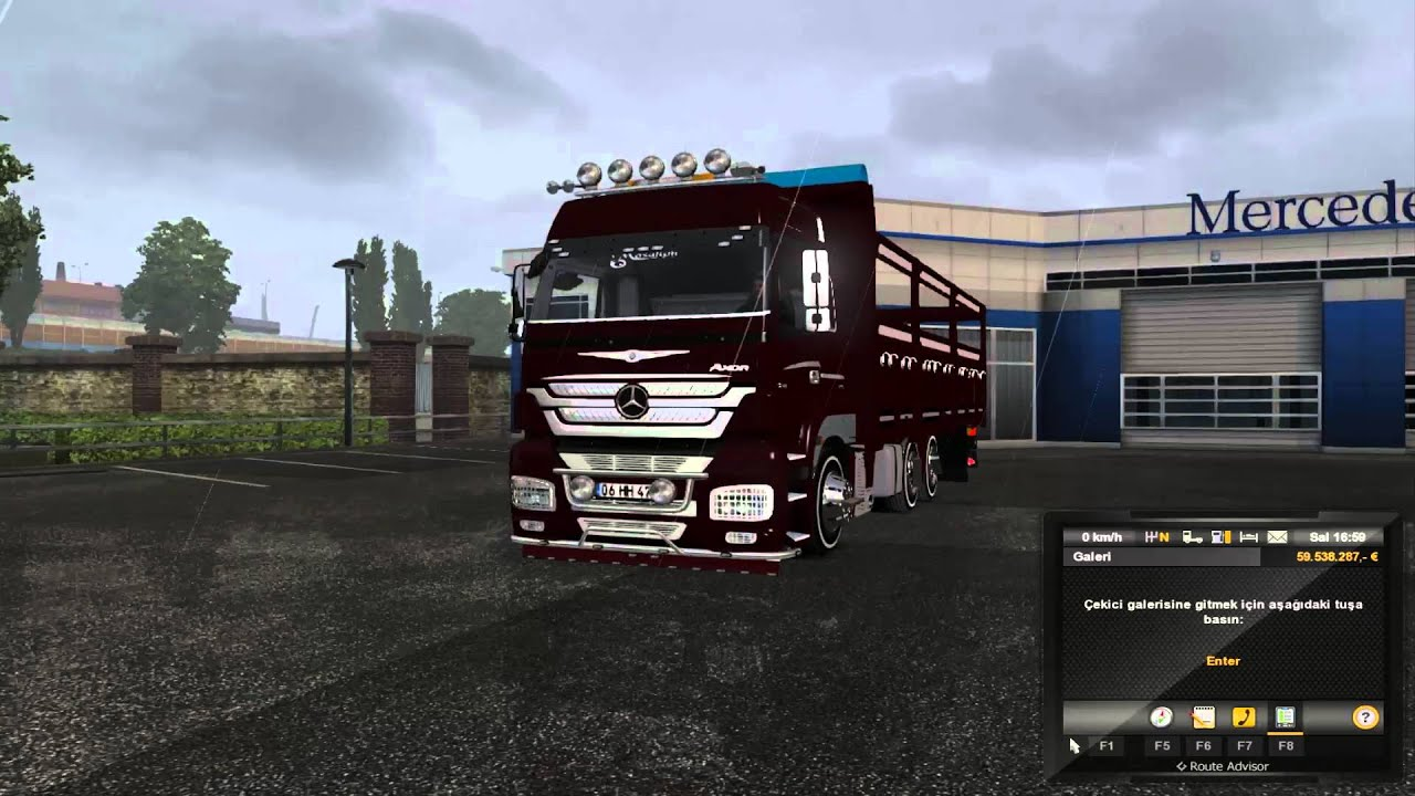 mercedes benz axor 3240 kırkayak 1.22.2.6s İndİr-download - youtube