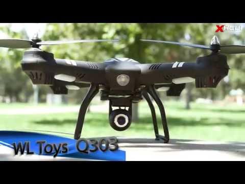 WL Toys Q303 Wifi FPV Drone Quadcopter Series