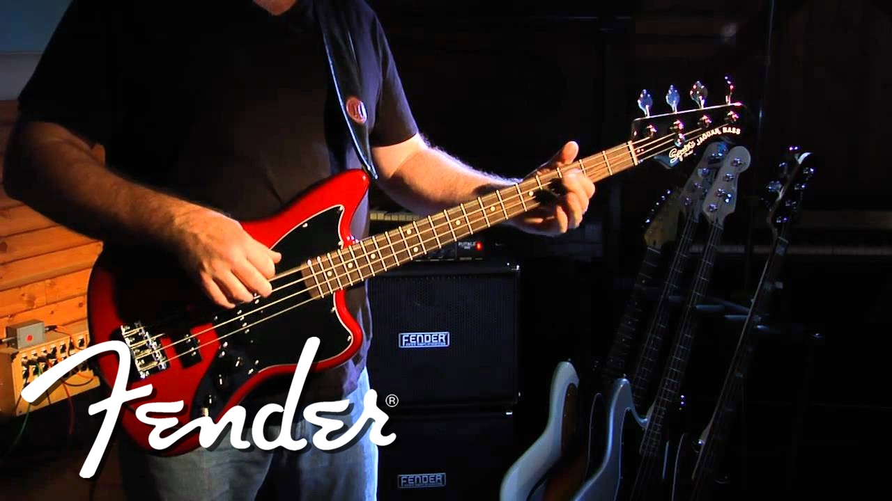 squier vintage modified jaguar® bass special ss demo | fender - youtube