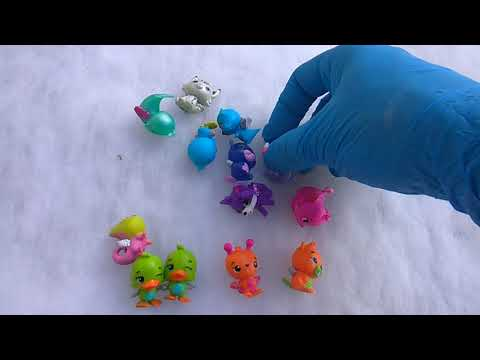 *New* HATCHIMALS CollEGGtibles Diamond Lynx Collector's 18pk Pack 5 Years /& Up
