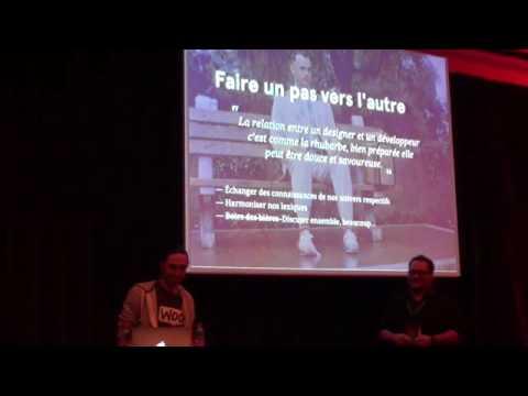 G. Crofte and M. Bousendorfer: Réconcilier les développeurs avec les designers autour d'un thème WP