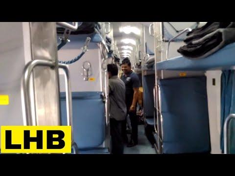 Standard LHB Coach Interior of 22121 LTT - Lucknow AC SF Express | Lokmanya Tilak Terminus