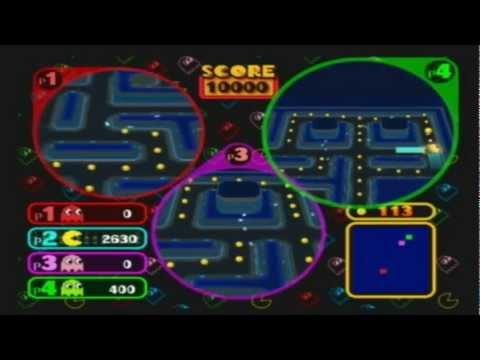 MarioPartyCrashers - Pac-Man VS. Round 1!