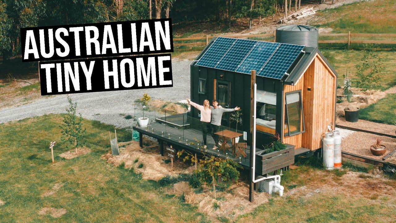 Our Tiny Home In Australia Full Tour Youtube