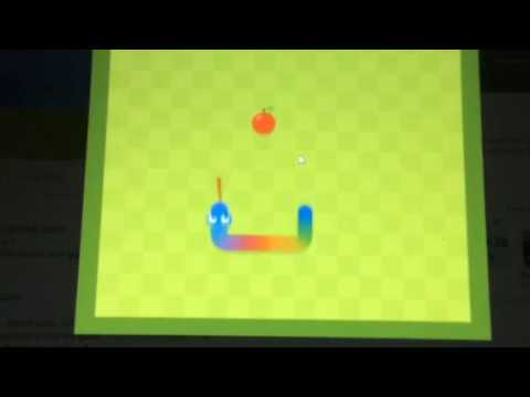 How To Get The  SECRET Rainbow Snake On Google Snake Game