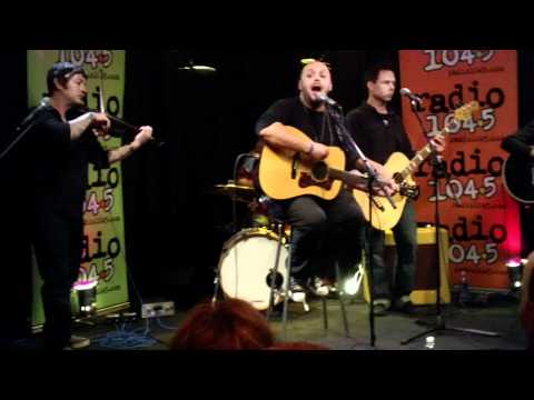 Blue October Ugly Side Acoustic Philly radio 104.5 FM HD 1080P