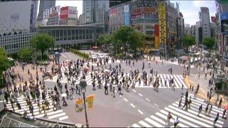 【LIVE CAMERA】渋谷スクランブル交差点