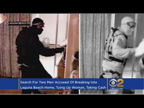 Armed Men Tie Up Woman, Ransack Laguna Beach Home