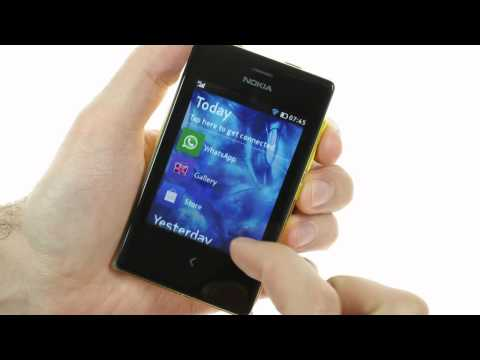 Nokia Asha 503: user interface