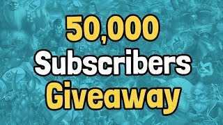 the-50000-subscribers-giveaway