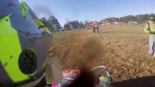 DRR USA ATV Mini Quad Racing Andrea on DRX 90 at GNCC Big Buck Go Pro