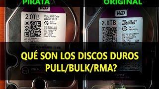 Qué son Discos duros PULL - BULK - RMA - ¿Valen la Pena?