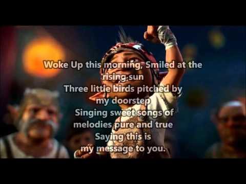Strange Magic -  Three Little Birds (Don't worry about a thing) lyrics