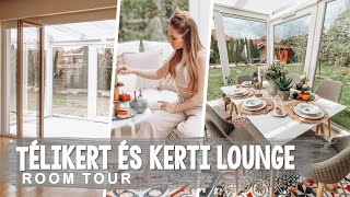 🏡 HOME TOUR - TÉLIKERT, LOUNGE TERASZ | 1. RÉSZ ♡ Chloe From The Woods
