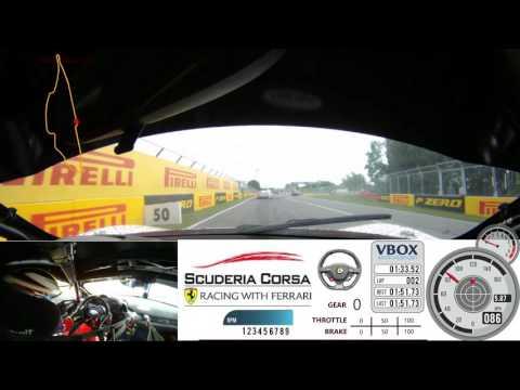 2017 Ferrari Challenge - OnBoard Race 1 Montreal - Circuit Gilles Villeneuve